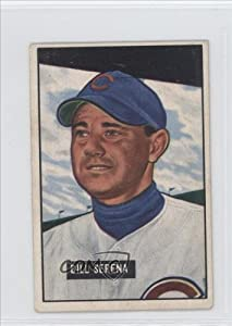 Bill Serena Chicago Cubs (Baseball Card) 1951 Bowman #246