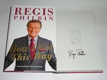 Regis Philbin Autographed Book COA Memorabilia Lane & Promotions