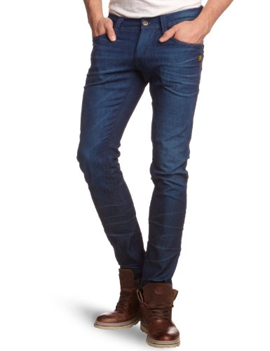 G-Star Raw - Mens Defend Super Slim Fit Jeans in Dark Aged, Size: 28W x 32L, Color: Dark Aged