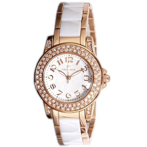 [フォリフォリ] FOLLI FOLLIE 腕時計 セラミック WF9B020BPS レディース [並行輸入品]