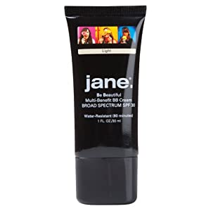 Jane Cosmetics SPF30 BB Cream, Light, 72 Ounce