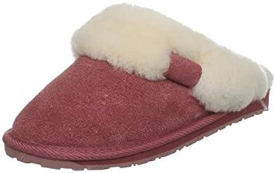 Emu Women's Jolie Slipper Rose Size Uk 3 US 5 Eu 35/36