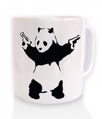 Panda Kitchen on Amazon Com  Banksy Panda With Guns  Kitchen   Dining