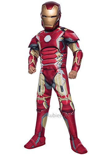 Alter von Ultron Deluxe Iron Man Kostüm Small 3-4 years