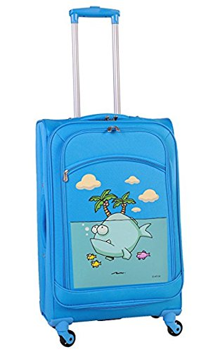 ed-heck-big-fish-spinner-luggage-25-inch-sky-blue-one-size