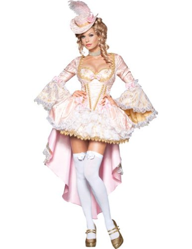 Vixen Of Versailles Adult Costume Lg 12-14 Adult Womens Costume