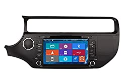 See Crusade Car GPS Navigation System for Kia RIO 2015- Support 3g,1080p,iphone 6s/5s,external Mic,usb/sd/gps/fm/am Radio 8 Inch Hd Touch Screen Stereo Navigation System+ Reverse Car Rear Camara + Free Map Details