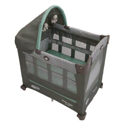 Graco Travel Lite Crib with Stages, Manor (Pack N Play Travel compare prices)