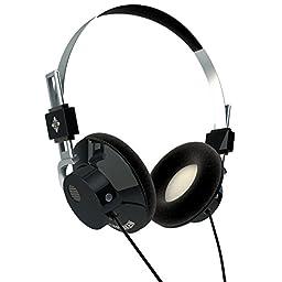 TELEFUNKEN Elektroakustik Hancock Black   Over Ear Noise Isolating Metal Headphone