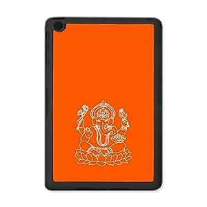 Skin4gadgets Lord Ganesha - Line Sketch on English Pastel Color-Orange Tablet Designer SMART CASE for IPAD MINI1