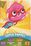 Moshi Monsters Series 3 Code Breakers No. 077 SUPER POPPET - Regular Individual Trading Card