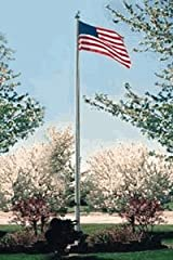 Commercial Grade Sectional 20ft. Flagpole - Bronze Anodized