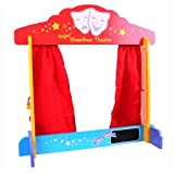 BIGJIGS Wooden Table Top Puppet Theatre