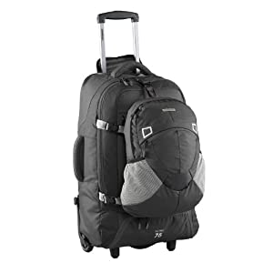 Fast Track 75 Travel Pack/ Wheeled Rucksack (black) by Caribee