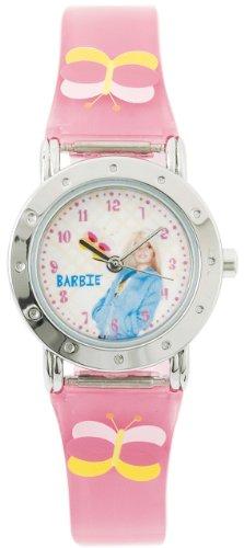 barbie-orologio-da-polso-ragazza-analogico-cinturino-di-plastica-rosa