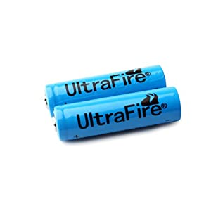 UltraFire LC 14500 Rechargeable 900mAh 3.6V Lithium Li-ion Battery Blue