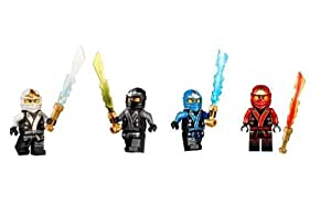 Lego ninjago final battle kimono ninjas set of 4 - Jeux ninjago final battle ...