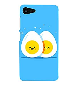 Egg Design 3D Hard Polycarbonate Designer Back Case Cover for Lenovo Zuk Z2