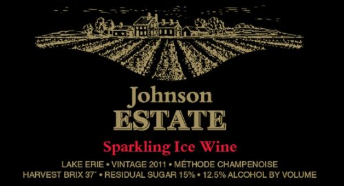 2011 Johnson Estate Sparkling Rose Ice Wine 375 Ml