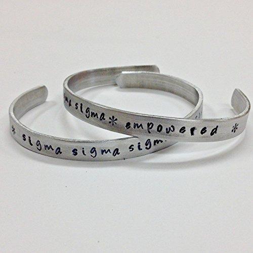 sigma-sigma-sigma-empowered-tri-sigma-greek-sorority-quote-bracelet-made-of-non-tarnish-aluminum