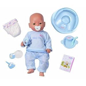 zapf 803547 baby born puppe junge hellh utig. Black Bedroom Furniture Sets. Home Design Ideas