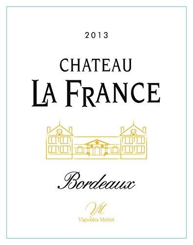 2013 Chateau La France Bordeaux White