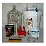 Home Brew Ohio RL-WKZ2-0IJS Gold Complete Beer Equipment Kit (K7) with 5 gal Glass Carboy