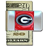 Georgia Bulldogs Large Money Clip/Card Holder – NCAA College Athletics Fan Shop Sports Team Merchand...