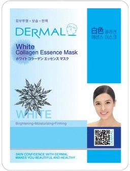 新DERMAL ホワイトコラーゲン エッセンスマスク 顔用シートマスクパック