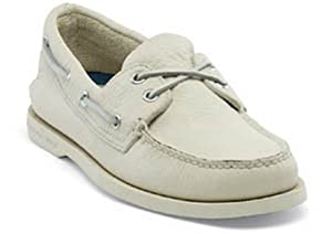 Sperry Top-Sider Men's A/O 2 Eye Boat Shoe,Ice,9.5 M US