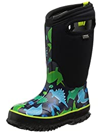 Bogs Kids Classic Dinosaur Waterproof Winter & Rain Boot (Toddler/Little Kid/Big Kid)