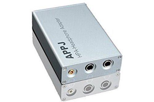 Bangk Appj Hpa Headphone Adapter/Matcher ( + Amplifier = Headphone Amplifier) , 8W +8 W, Support:8Ohms-600Ohms Headsets, El34/Kt88/300B/Mini 2013/Appj Pa0901A Amp, Silver