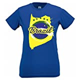Brazil Summer 2014 Football World Cup Womens Sports Soccer Cool Tshirt [Apparel]