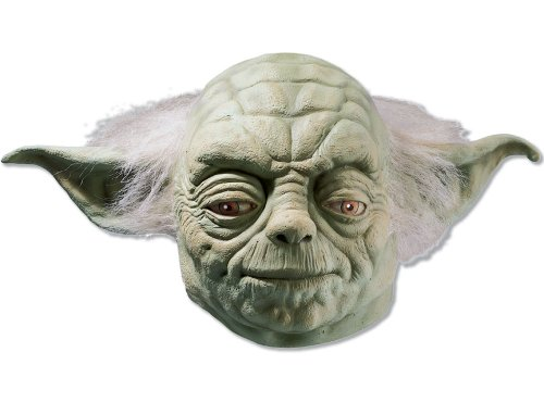 Yoda Mask Star Wars Mask Star Wars Costume Mask Yoda Costume Mask 4192