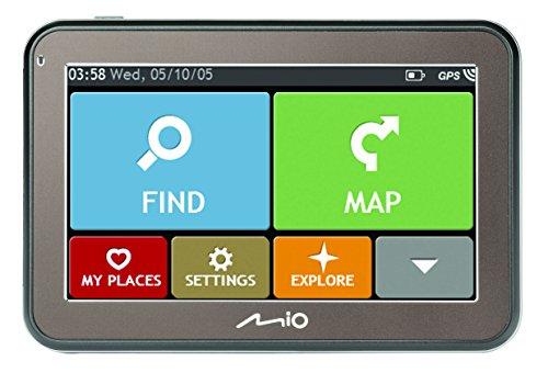 Mio-5670-Spirit-voiture-de-Navigation-TMC-Bluetooth-Full-Europe-Lifetime-Noir