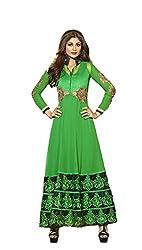 Adah Fashions Women Georgette Un-Stitched Salwar Kameez Dress Material (501-6012)