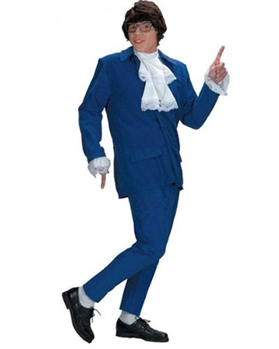 Austin Powers Deluxe Men's Costume- Size 46