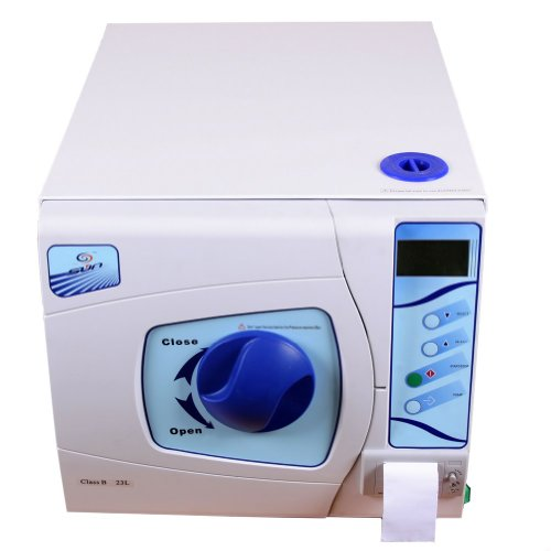 Generic 23 Liters with Data Printer&printing Paper 23l Medical Surgical Dental Steam Autoclave Sterilizer Vacuume Steam Printing Date Dentist Lab Equipment Ce Certification Approved