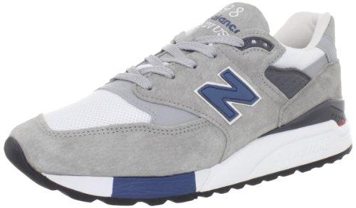New Balance New Balance Men's M998 Running Shoe,Grey/Silver,9.5 D US