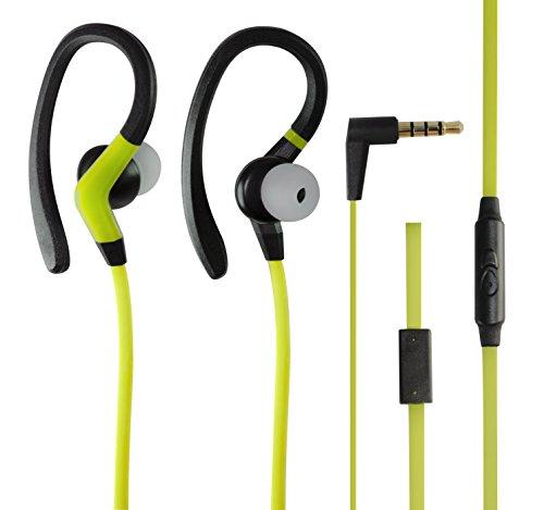 iworks-ieb-825-grn-ipx-7-waterproof-athletic-sports-earbuds-green