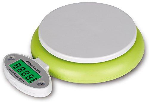 ARETOP® Balance numérique pour Colis et Aliments, Pèse Cuisine avec Fonction Tare Capacité 5kg