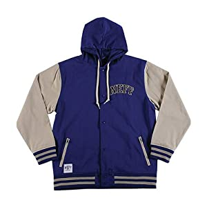 Neff Varsity Men's Outerwear Jacket - Navy / Small