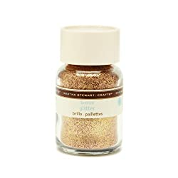 Martha Stewart Crafts Fine Glitter, Bronze, 1-1/2 Ounces