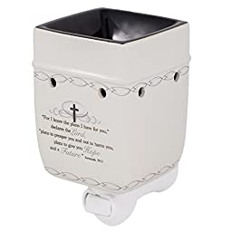 For I Know the Plans I Have For You Jeremiah 29:11 Electric Plug-in Outlet Wax and Oil Warmer