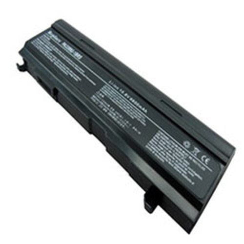 Toshiba Satellite A105-S4334 Laptop Battery (Lithium-Ion, 9 Chamber, 6600 mAh, 73wh, 10.8 Volt) - Replacement for Toshiba PA3399UH Series Laptop Battery
