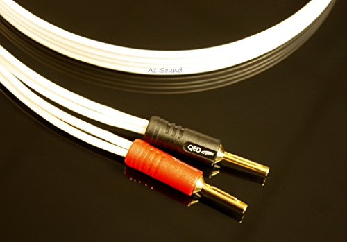 QED Performance Original Bi-Wire Speaker Cable 8 Metre Single Length ...
