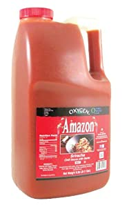 Oxygen Amazon Sriracha Hot Chili Sauce With Garlic 926 Pound Pack Of 1 from OXYGEN IMPORTS LLC