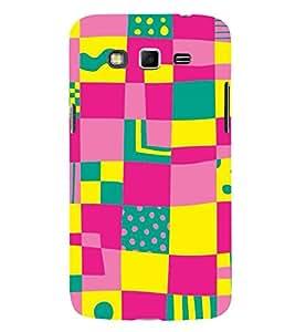 MULTI COLOURED FLORSCENT COLOURS PATTERN 3D Hard Polycarbonate Designer Back Case Cover for Samsung Galaxy Grand 2 G7102 :: Samsung Galaxy Grand 2 G7106