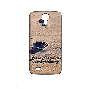 Vibhar printed case back cover for Infocus M2 LeaveFootprints