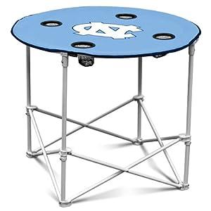 NCAA North Carolina Tarheels Round Tailgating Table by Logo
